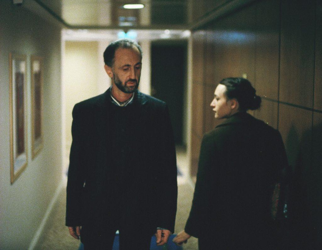 שרה אדלר ורומן קריכלי, צילום: גיא חמוי